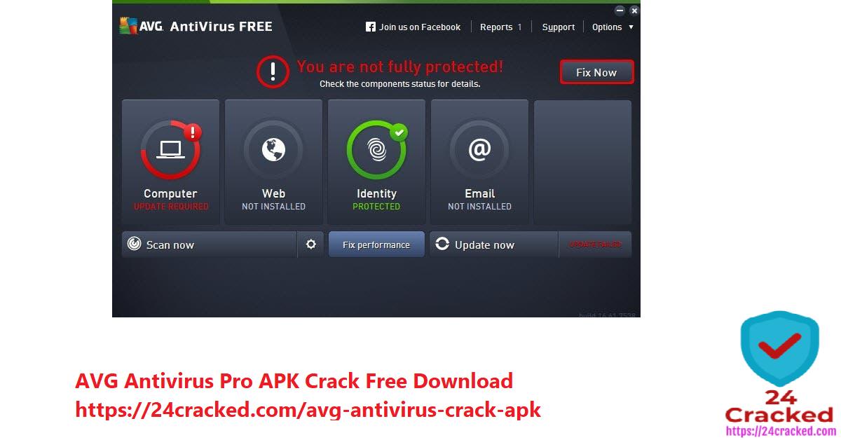 AVG Antivirus Pro APK Crack Free Download