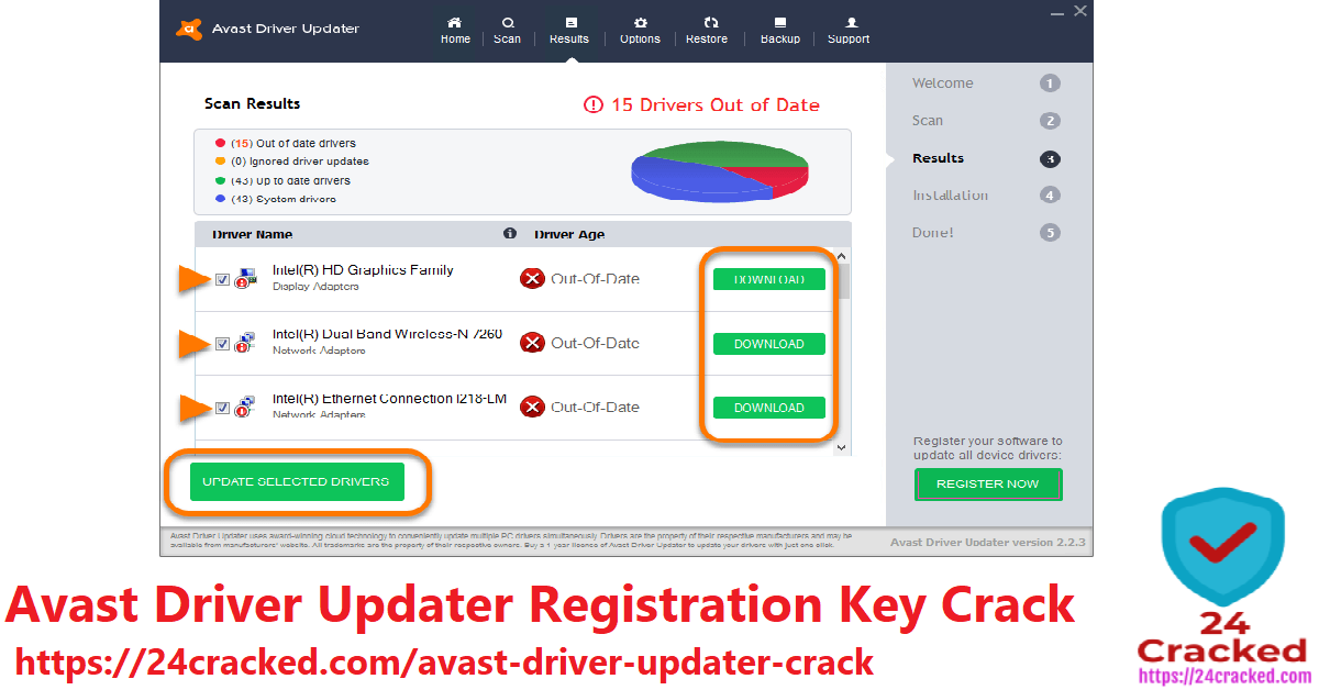 Avast Driver Updater Registration Key Crack