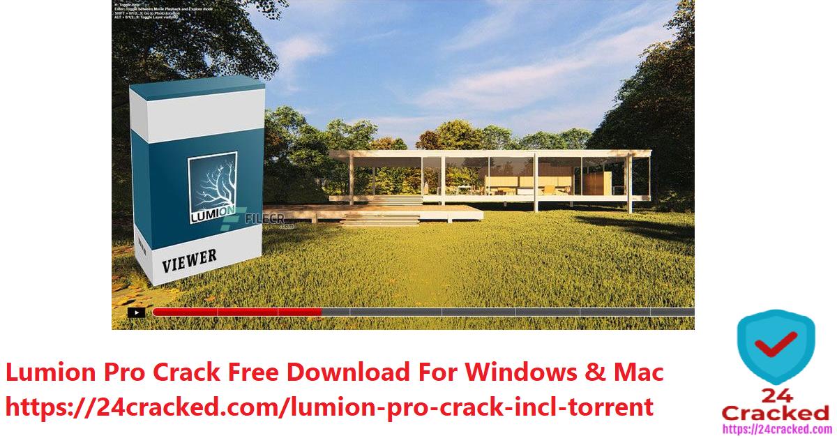 Lumion Pro Crack Free Download For Windows & Mac