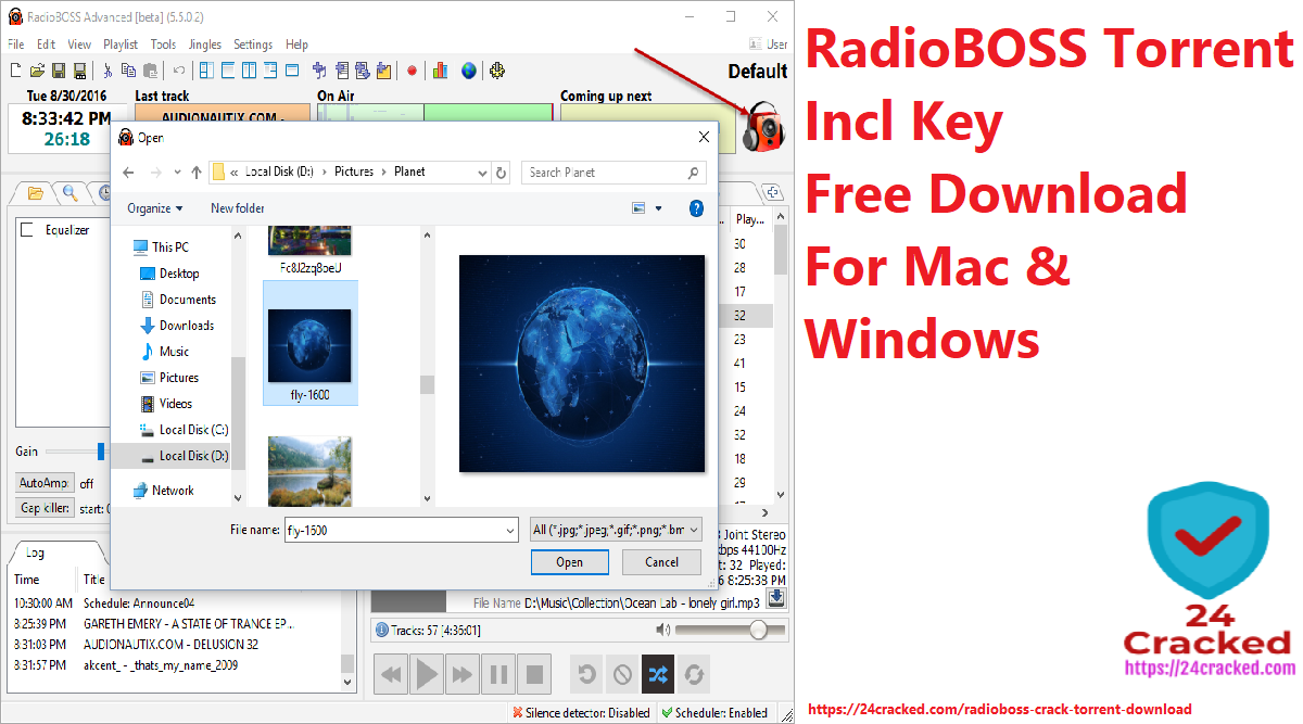 RadioBOSS Torrent Incl Key Free Download For PC and Windows