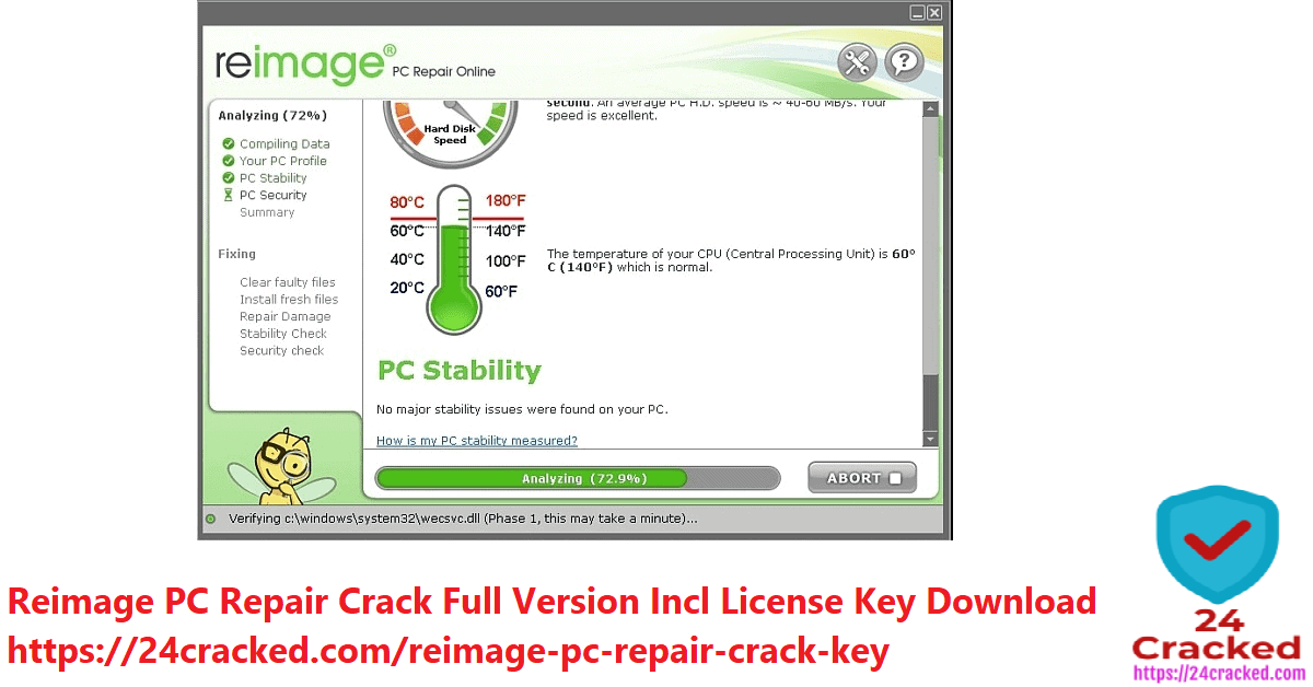 Reimage PC Repair Crack Full Version Incl License Key Download