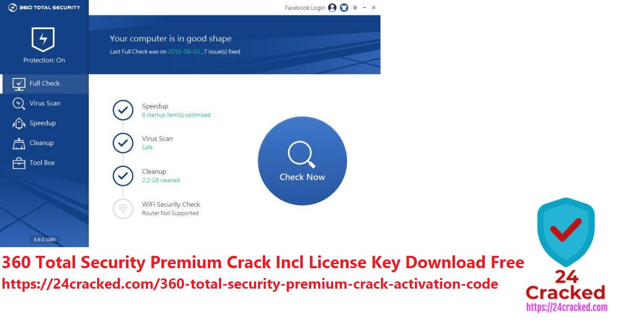 360 Total Security Premium Crack Incl License Key Download Free