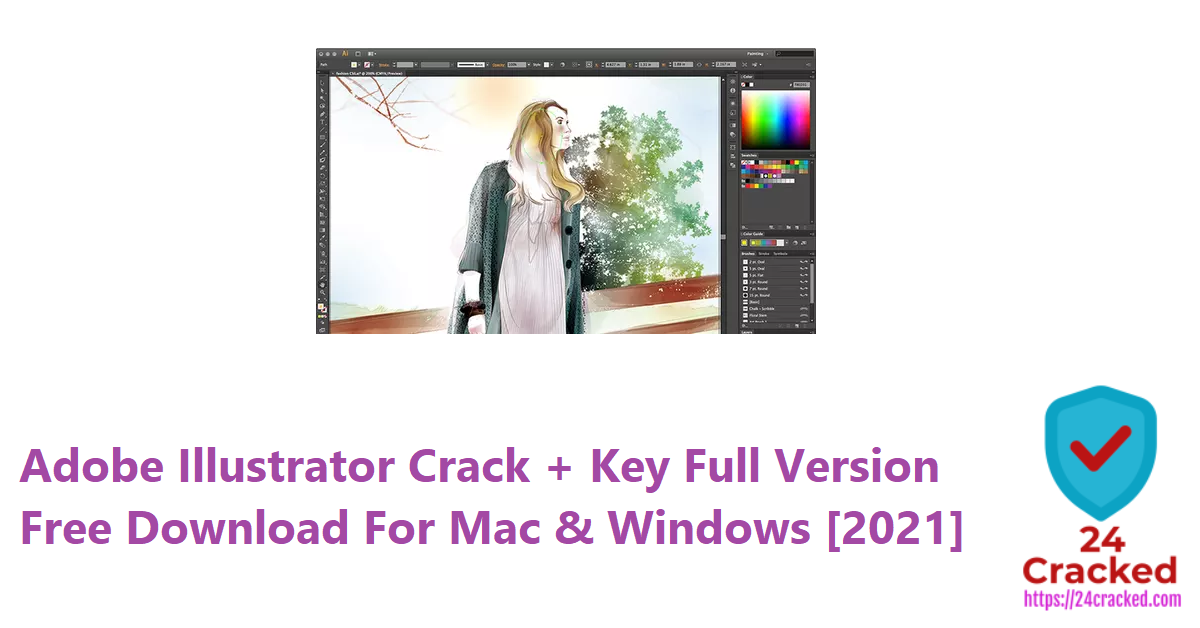 Adobe Illustrator Crack + Key Full Version Free Download For Mac & Windows [2021]