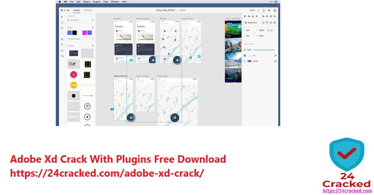 Adobe Xd Crack With Plugins Free Download