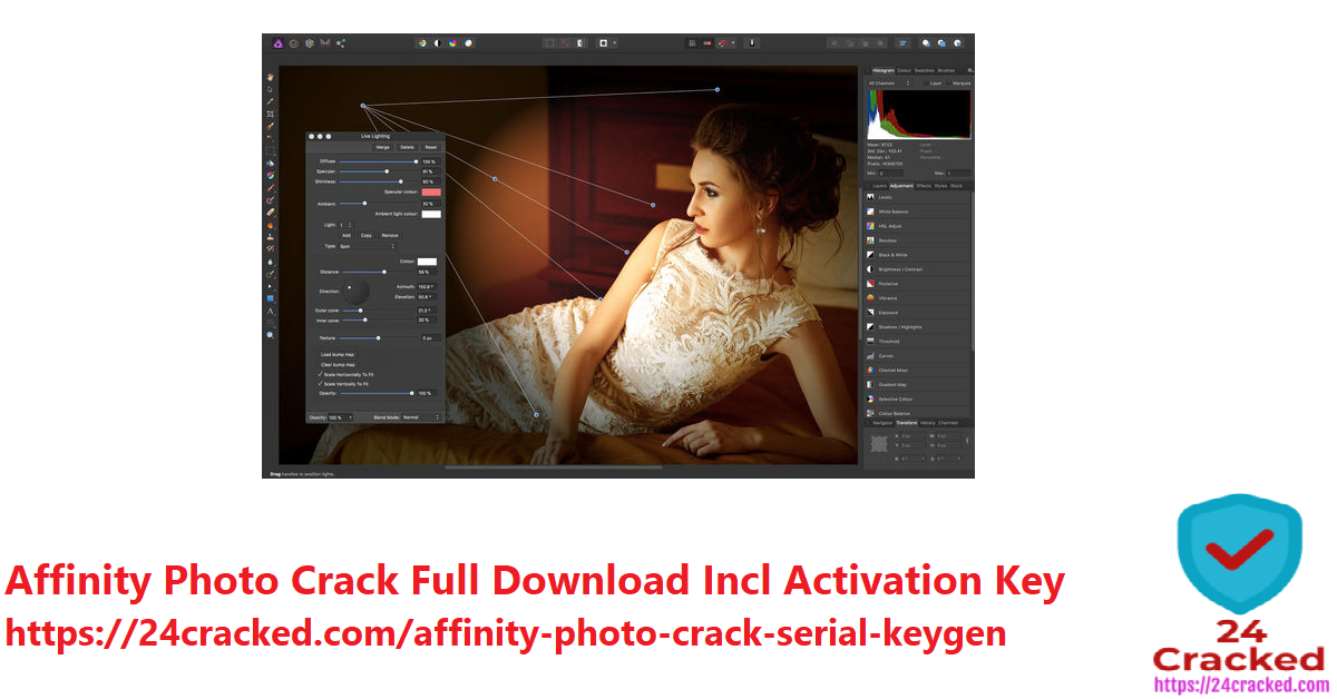 Affinity Photo Crack Full Download Incl Activation Key