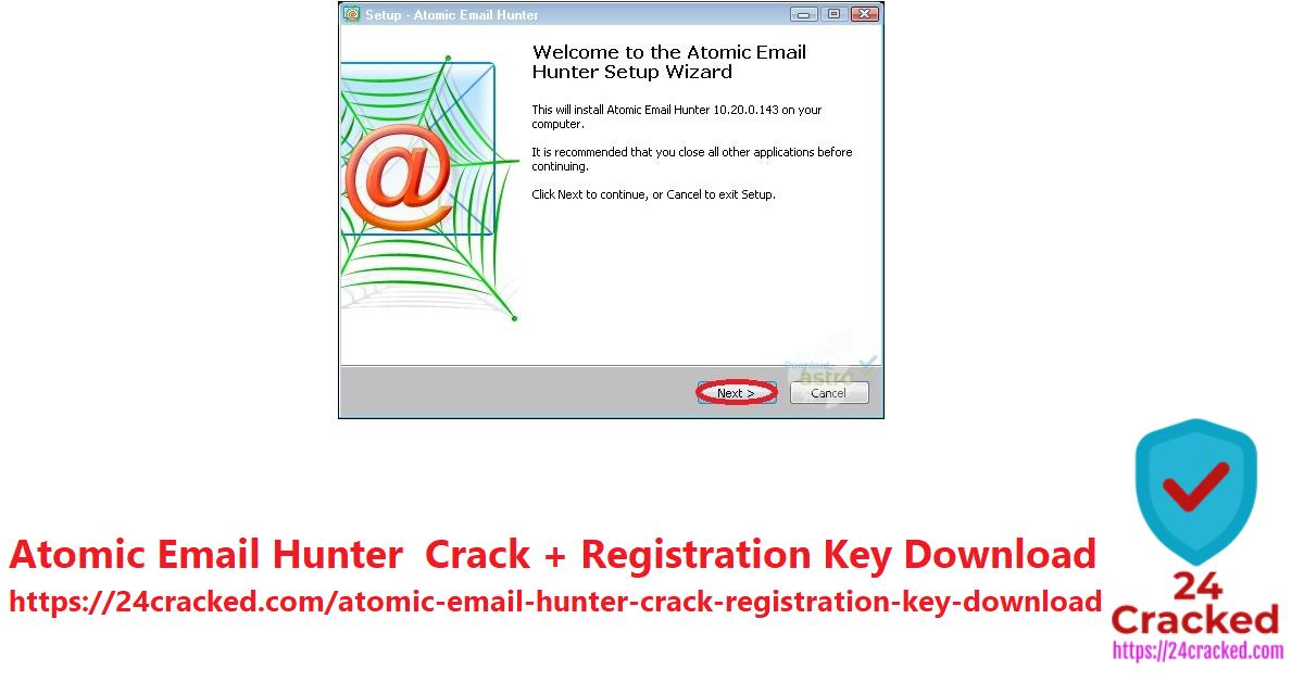 Atomic Email Hunter Crack + Registration Key Download