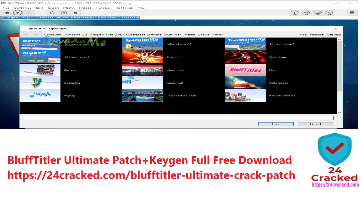 BluffTitler Ultimate Patch+Keygen Full Free Download