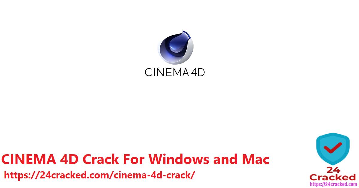 CINEMA 4D Crack