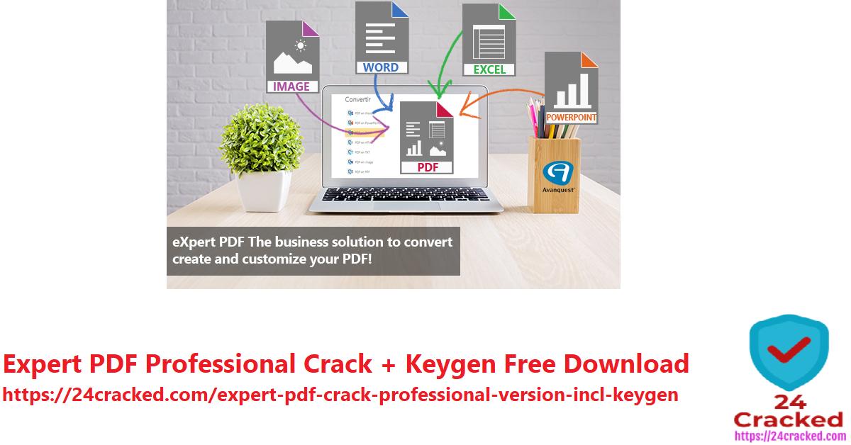 Expert PDF Professional Crack + Keygen Free Download