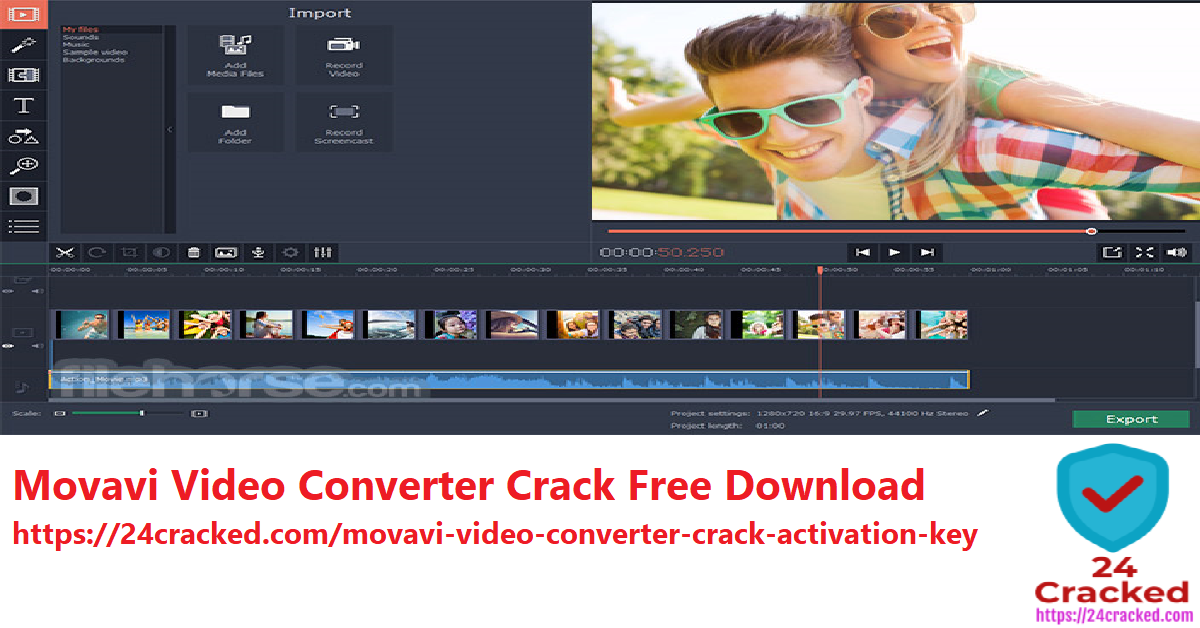 Movavi Video Converter Crack Free Download