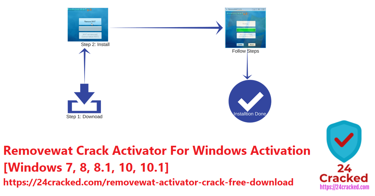 Removewat Crack Activator For Windows Activation