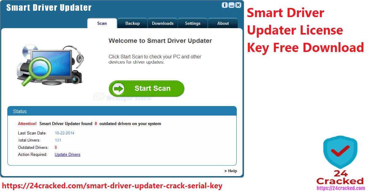 Smart Driver Updater License Key Free Download