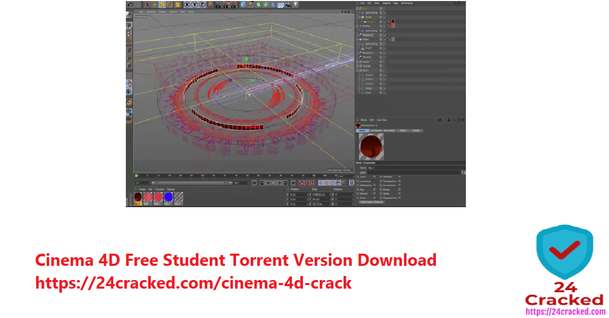 cinema 4d free Student torrent version download