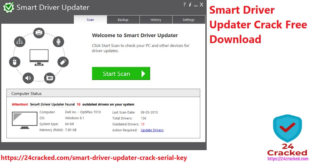 smart driver updater crack