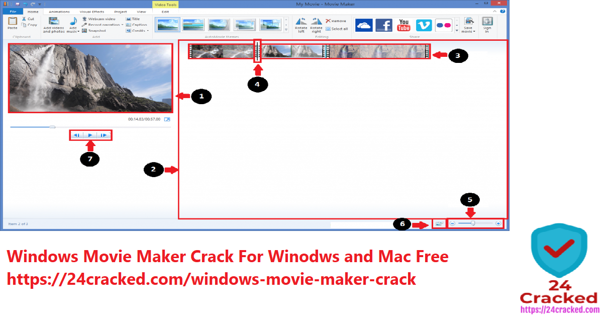 windows movie maker crack for windows and Mac