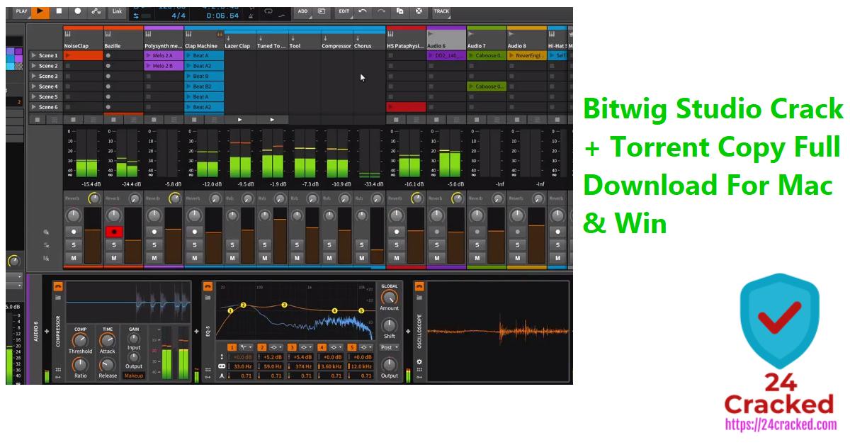 Bitwig Studio Crack + Torrent Copy Full Download For Mac & Win