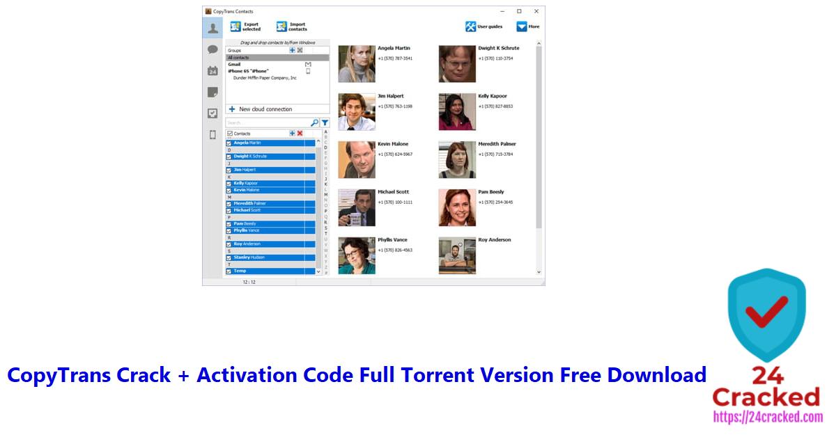 CopyTrans Crack + Activation Code Full Torrent Version Free Download