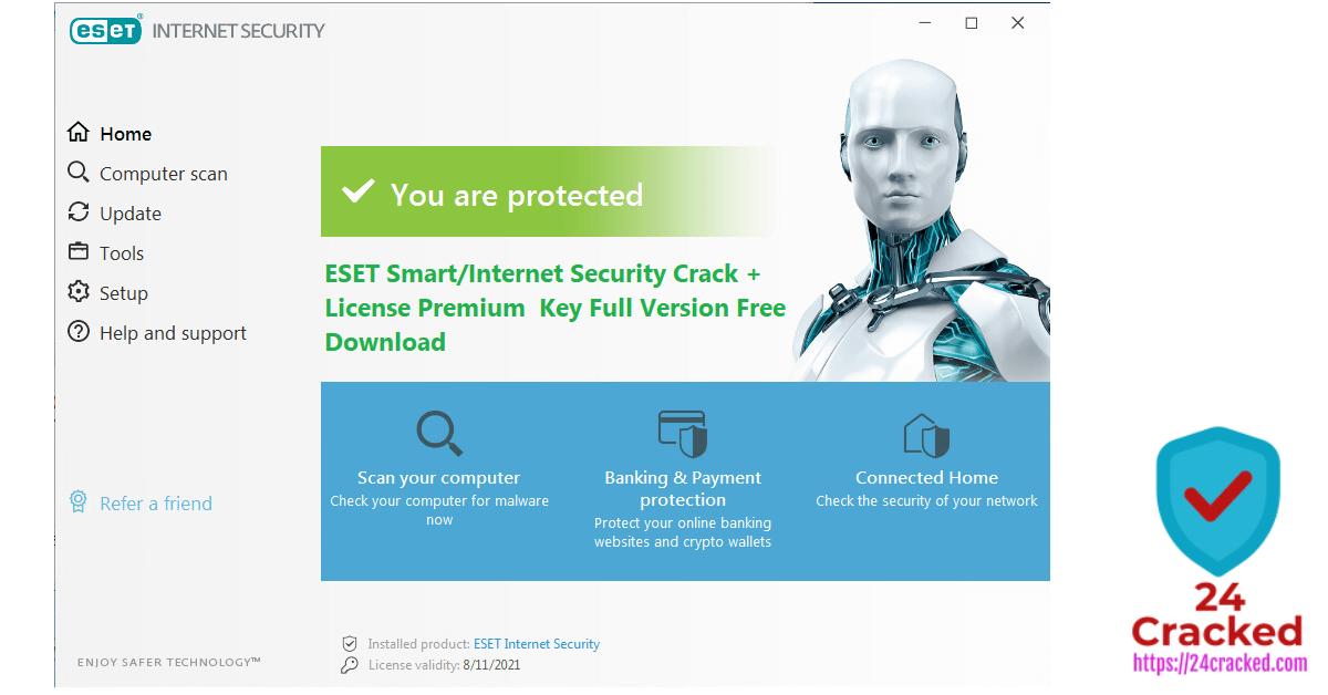 ESET Smart Internet Security Crack + License Premium Key Full Version Free Download