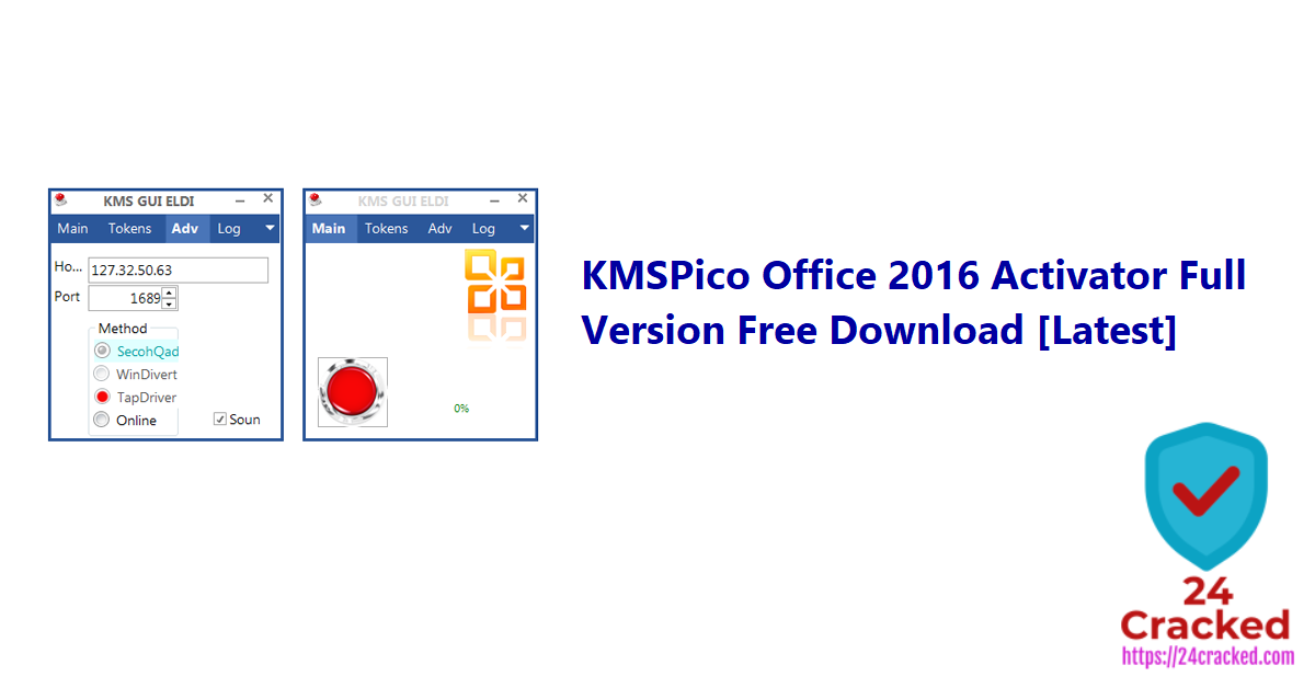KMSPico Office 2016 Activator Full Version Free Download [Latest]