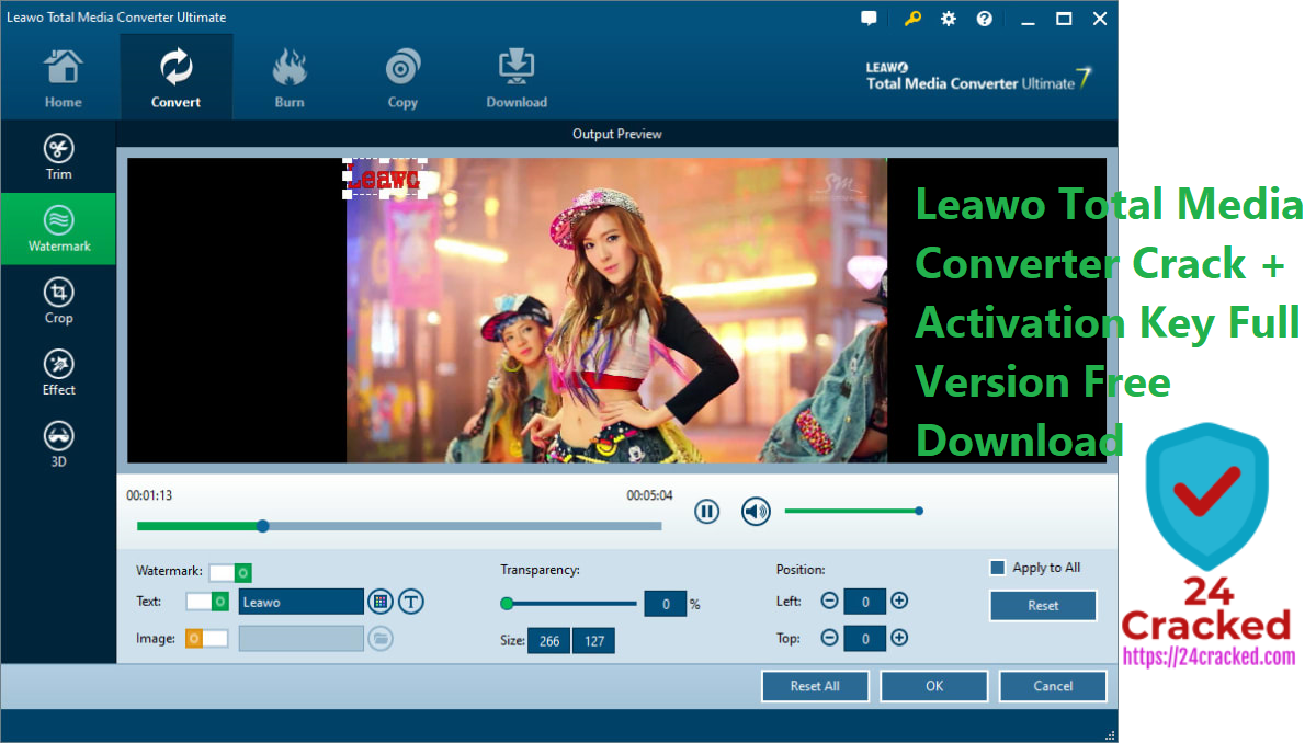 Leawo Total Media Converter Crack + Activation Key Full Version Free  Download