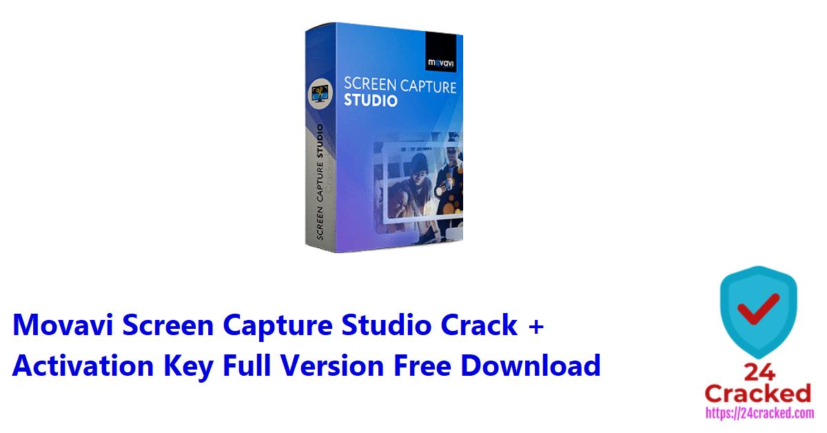 Movavi Screen Capture Studio Crack + Activation Key Full Version Free Download