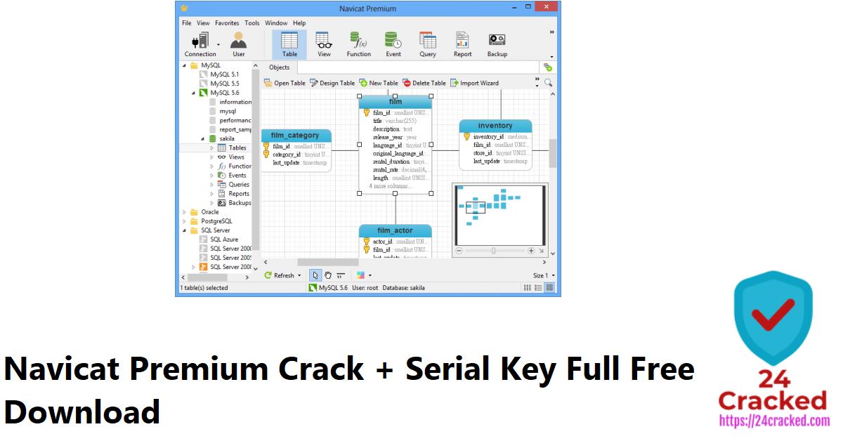Navicat Premium Crack + Serial Key Full Free Download
