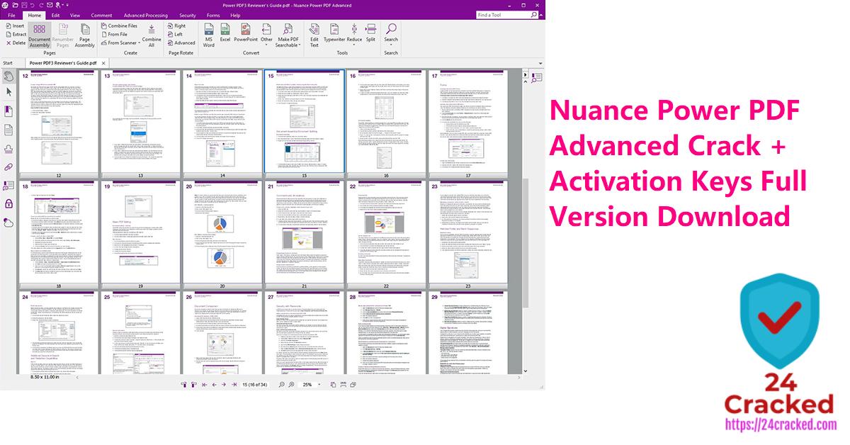 Nuance Power PDF Advanced Crack + Activation Keys Full Version Download