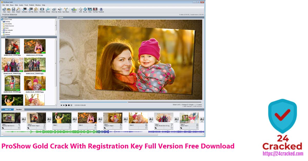 ProShow Gold Crack With Registration Key Full Version Free Download