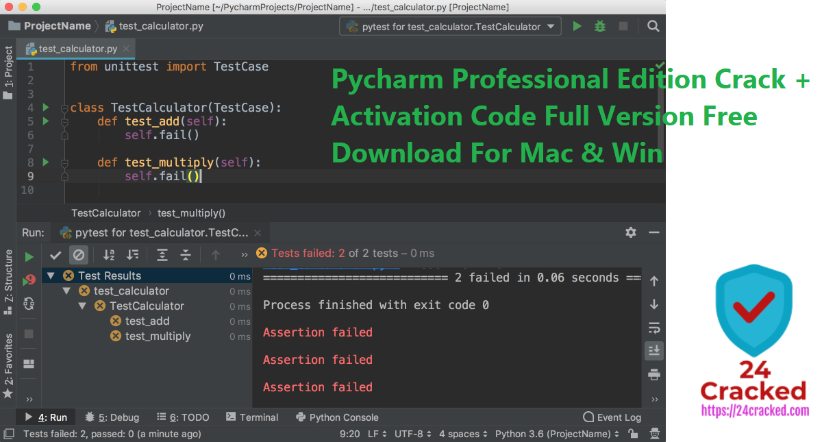 Pycharm Professional Edition Crack + Activation Code Full Version Free Download For Mac & Win