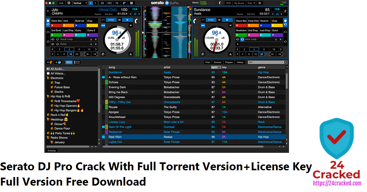 Serato DJ Pro Crack With Full Torrent Version+License Key Full Version Free Download
