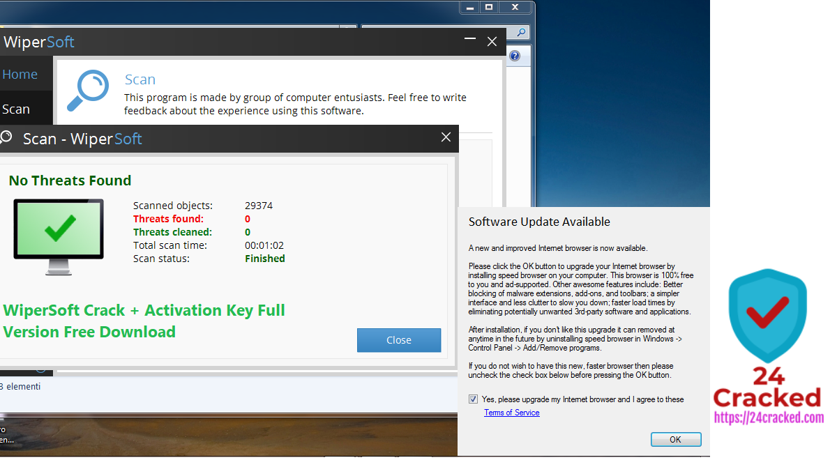 WiperSoft Crack + Activation Key Full Version Free Download