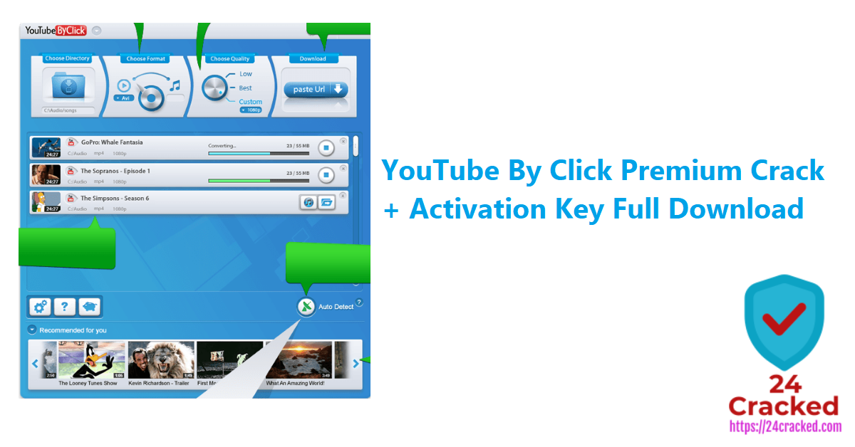 YouTube By Click Premium Crack + Activation Key Full Download
