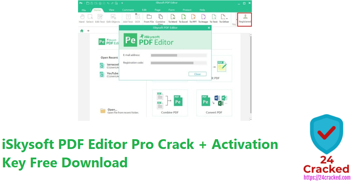iSkysoft PDF Editor Pro Crack + Activation Key Free Download