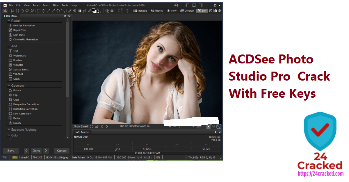 ACDSee Photo Studio Pro Crack With Free Keys Download