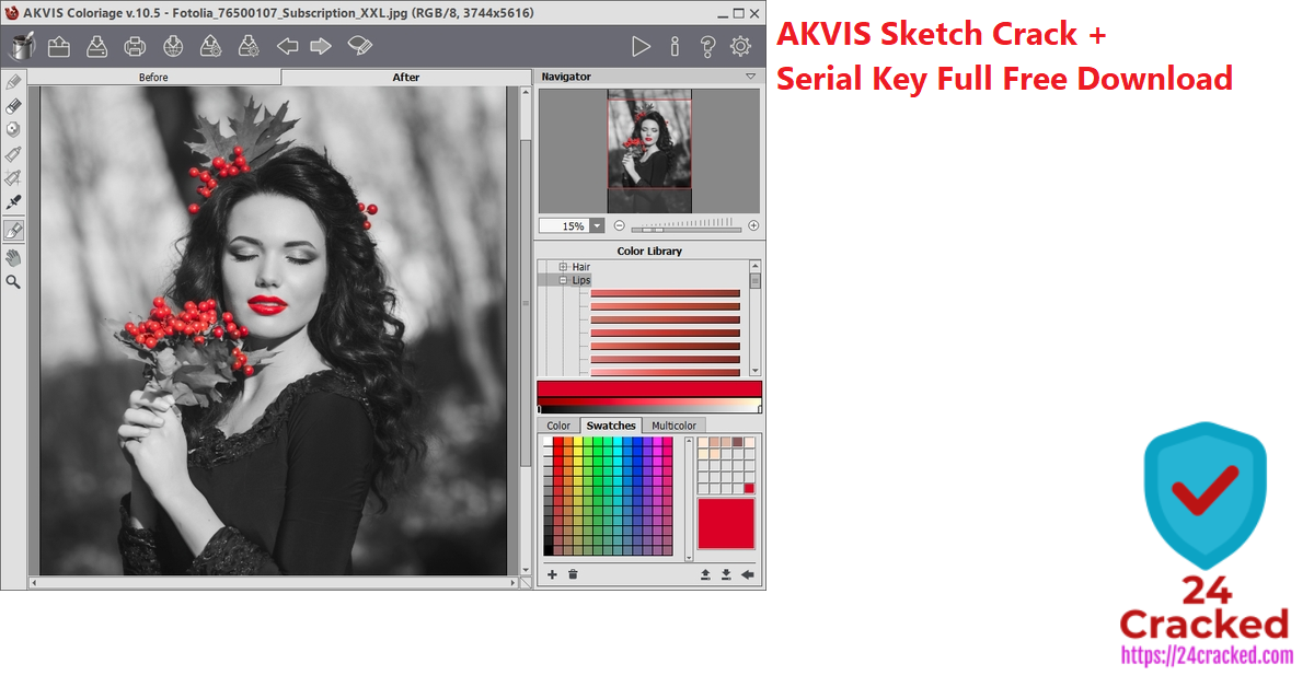 AKVIS Sketch Crack + Serial Key Free Download