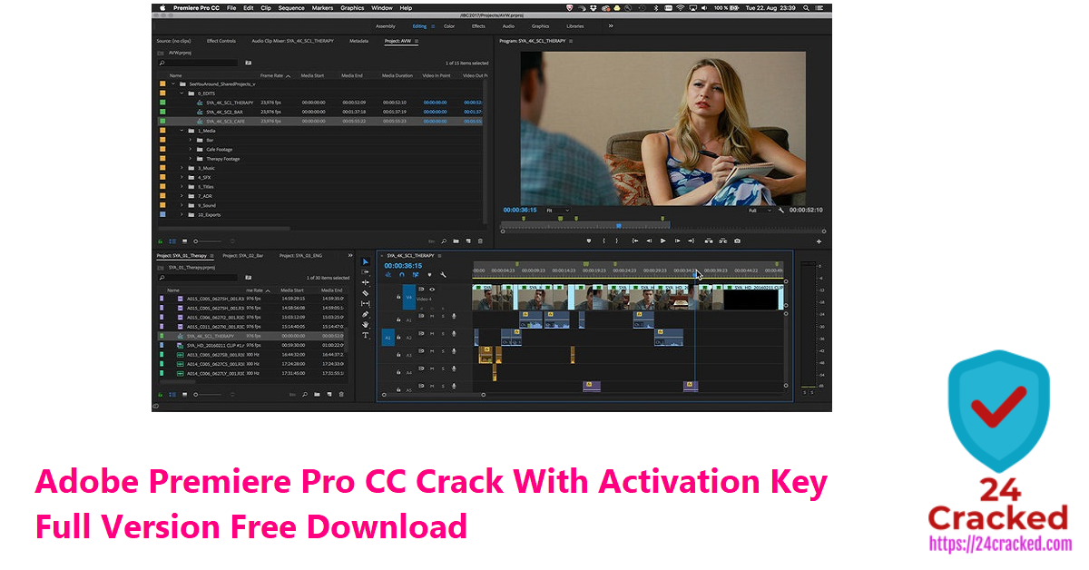 Adobe Premiere Pro CC Crack With Activation Key Full Version Free Download
