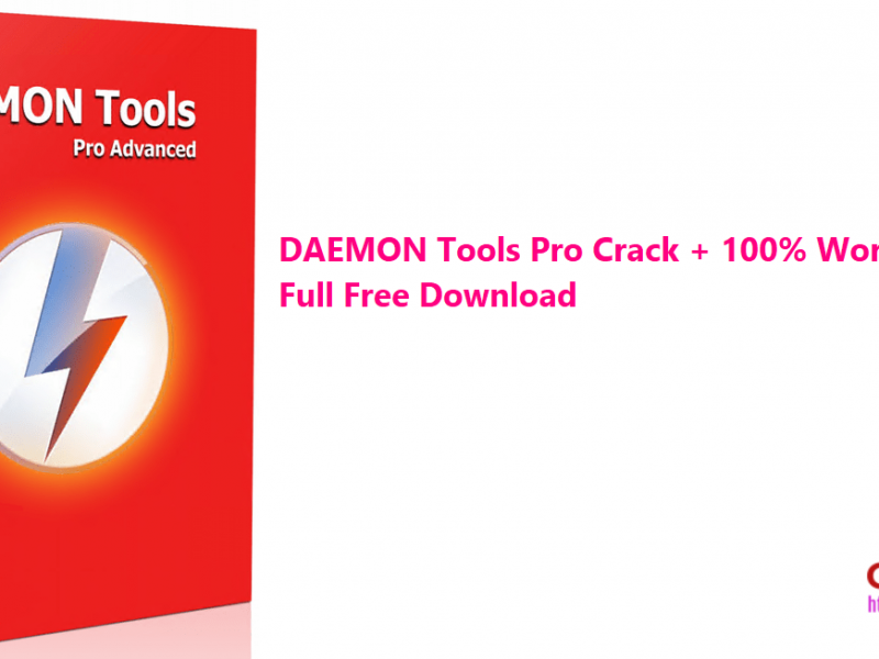 DAEMON Tools Pro Crack + 100% Working Keys Full Free Download