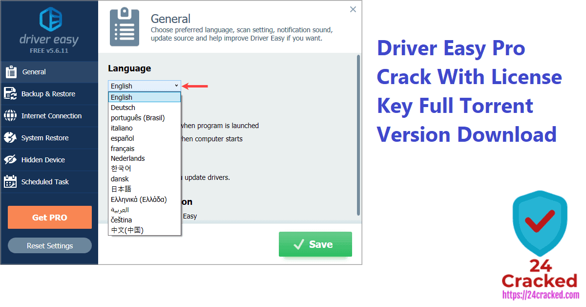 Driver Easy Pro Crack With License Key Full Torrent Version Free Download