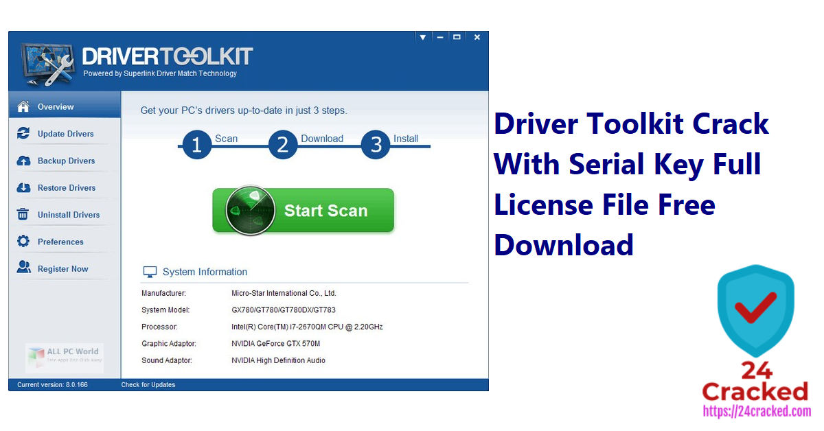 Driver Toolkit Crack With Serial Key Full License File Free Download