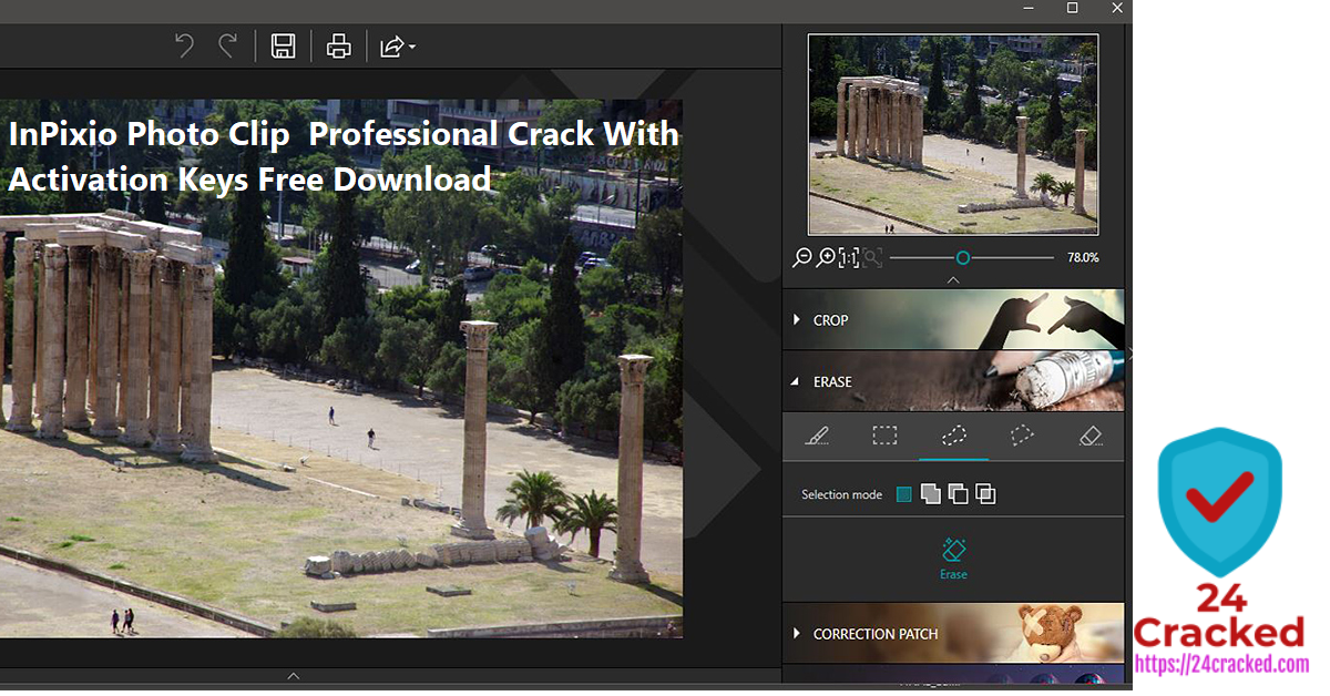 InPixio Photo Clip Professional Crack With Activation Keys Free Download