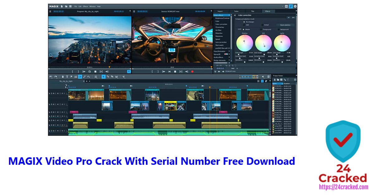 MAGIX Video Pro X Crack With Serial Number Free Download