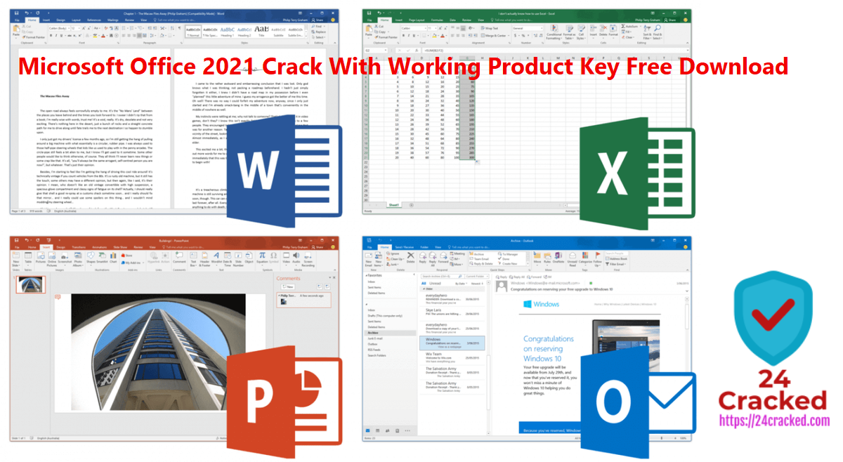 Microsoft Office Crack With Working Product Key Free Download