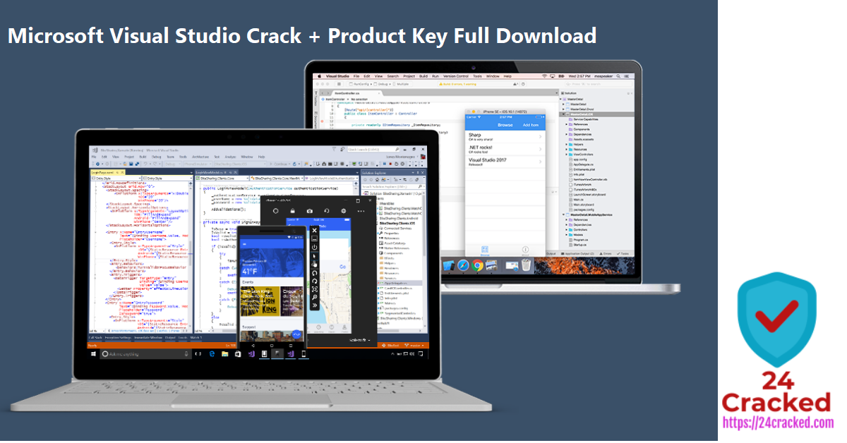 Microsoft Visual Studio Crack + Product Key Full Download