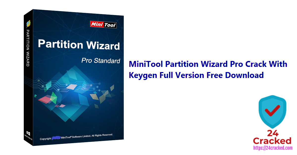 MiniTool Partition Wizard Pro Crack With Keygen Full Version Free Download