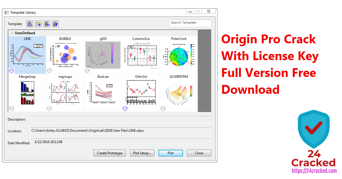 Origin Pro Crack With License Key Full Version Free Download