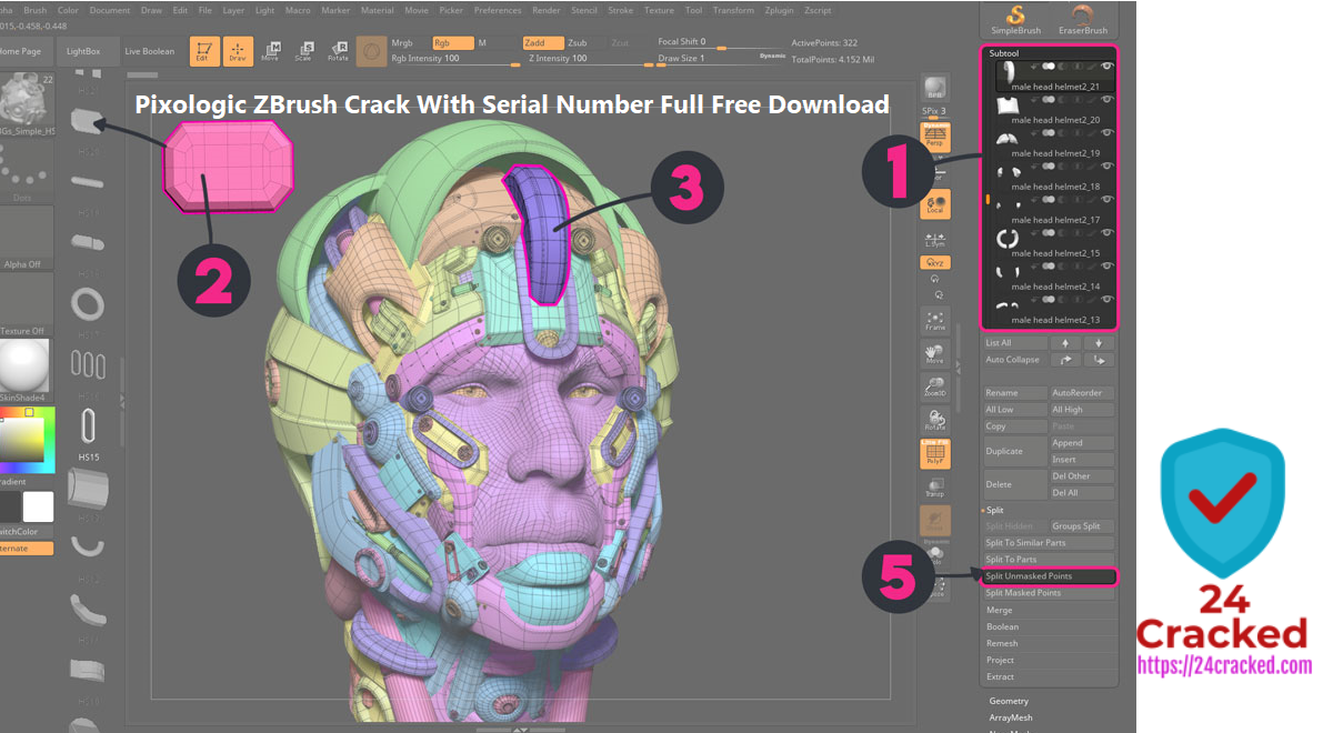 Pixologic ZBrush Crack With Serial Number Full Free Download