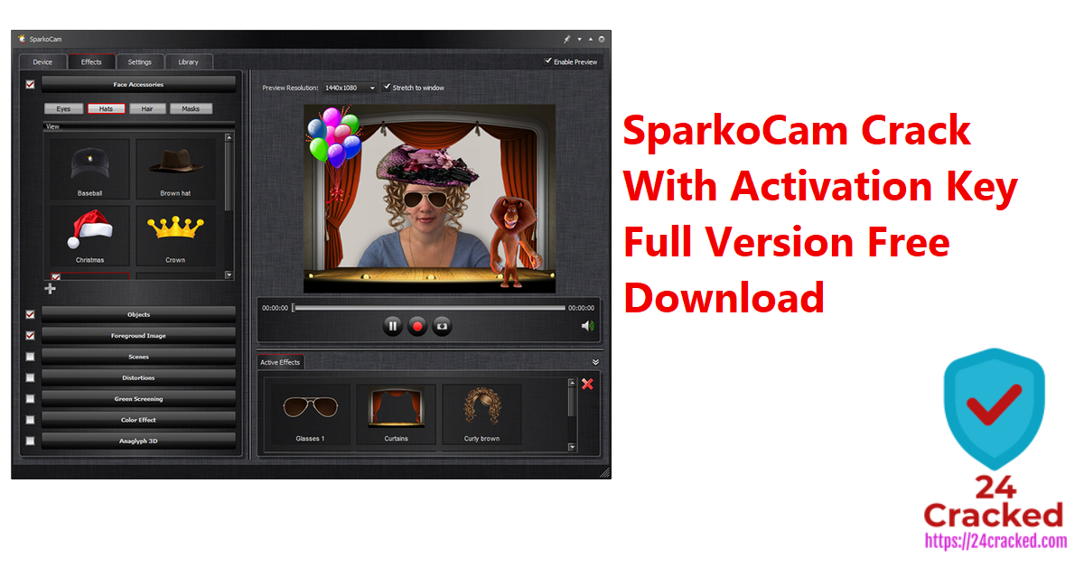 SparkoCam Crack With Activation Key Full Version Free Download