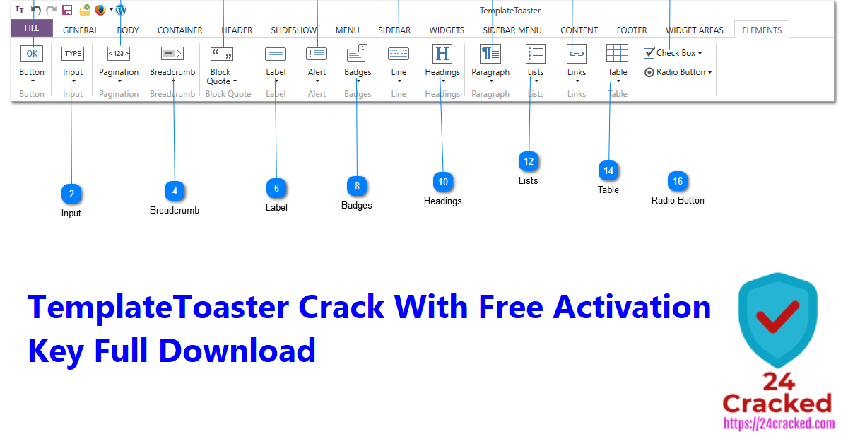 TemplateToaster Crack With Free Activation Key Full Download