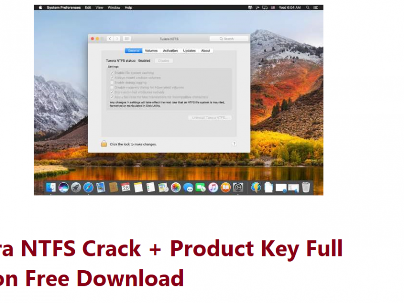 Tuxera NTFS Crack + Product Key Full version Free Download