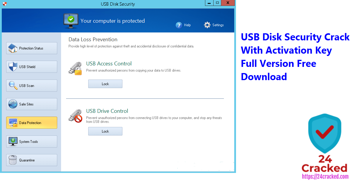 USB Disk Security Crack With Activation Key Full Version Free Download